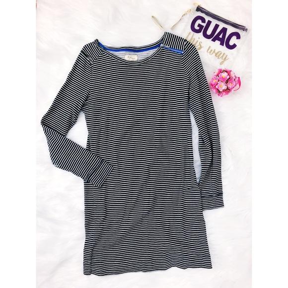 0f898969c704 Lou   Grey Dresses   Skirts - Striped blue white tunic dress Lou ...